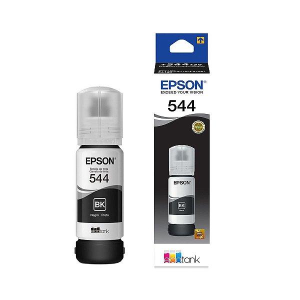 Tinta Epson L3150 EcoTank | 544 | T544120 Original Corante Preto 65ml