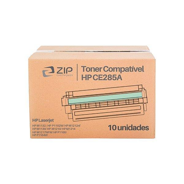 Kit 10 Toners HP M1210 | 1210 | CE285A Laserjet Pro Preto Compatíveis para 2.000 páginas