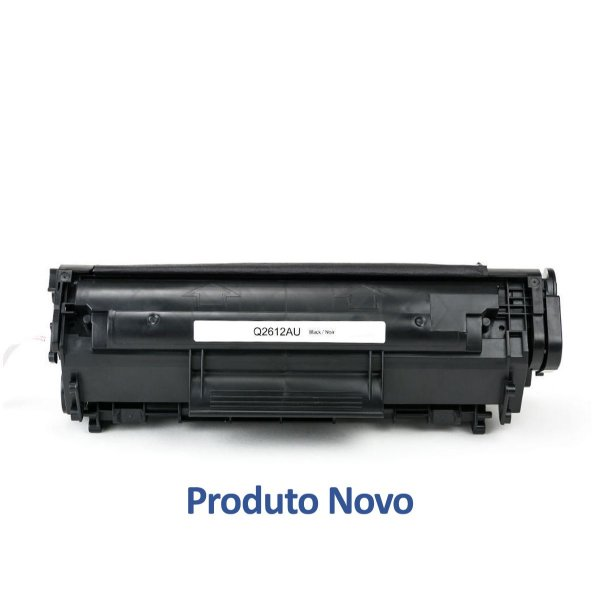 Toner HP 1012 | Q2612A | HP 1012 Laser Preto Compatível para 2.000 páginas