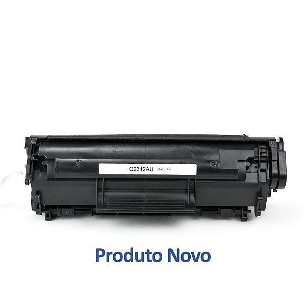 Toner HP 3030   Q2612A   12A Laserjet All-In-One Preto Compatível para 2.000 páginas