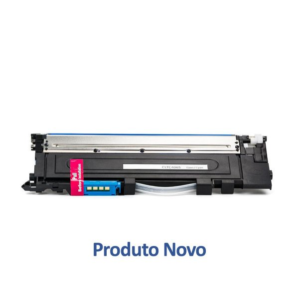 Toner Samsung CLP-365 | CLP-365W | CLT-C406S Laser Ciano Compatível para 1.000 páginas