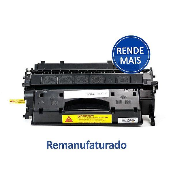 Toner HP 2055DN | P2055DN | CE505X | 05X Preto Ramanufaturado para 6.500 páginas