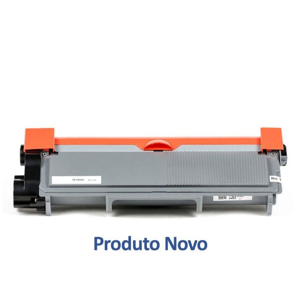 Toner Brother TN660 | Brother TN-660 Preto Compatível para 2.600 páginas