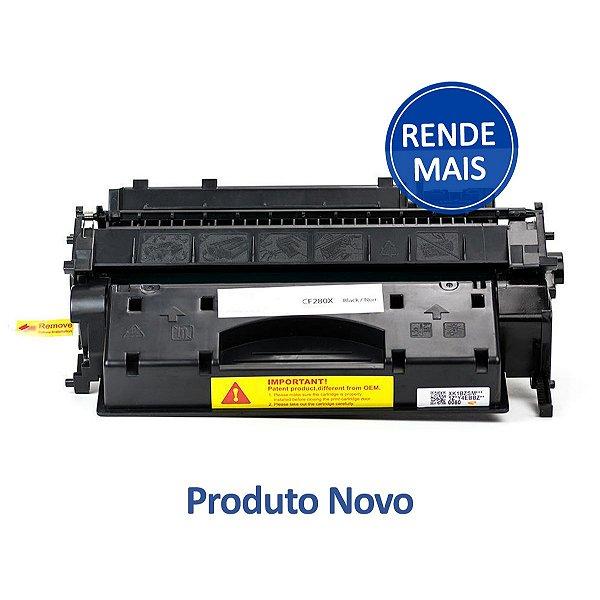 Toner HP 80X | CE280X LaserJet Preto Compatível para 6.900 páginas