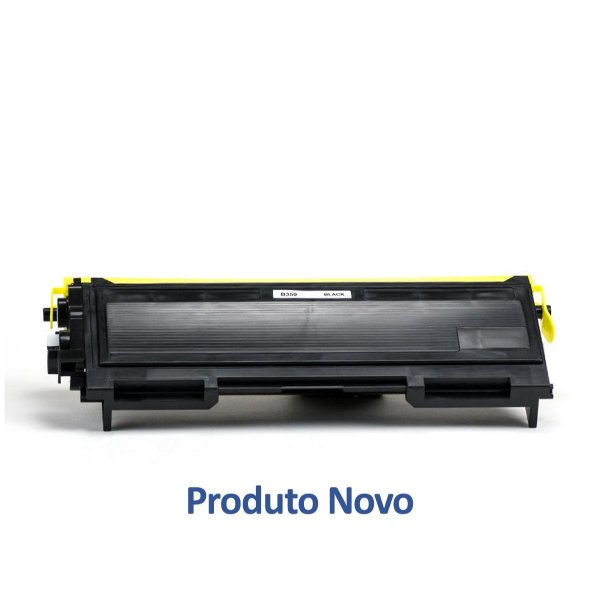 Toner Brother TN350 | Brother 350 | TN-350 Preto Compatível para 2.600 páginas
