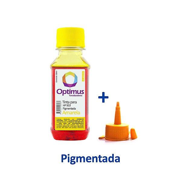 Tinta HP 933XL | HP 933 OfficeJet Amarela Pigmentada 100ml