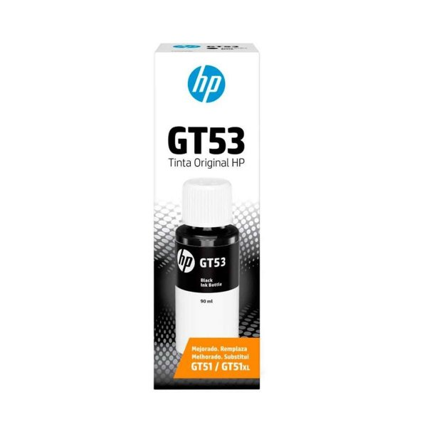 Tinta HP GT53 | 1VV22AL Smart Tank Preta Original 90ml