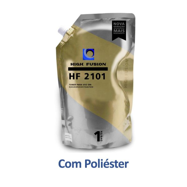 Refil de Pó de Toner Xerox 106R02773 | HF2101 Poliéster High Fusion 1kg