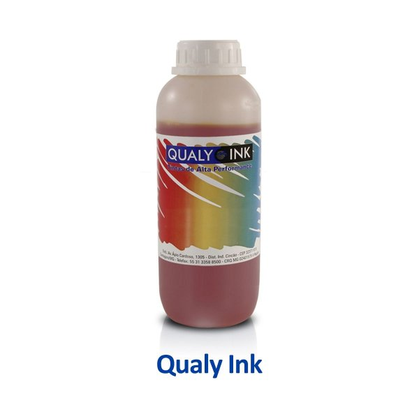 Tinta Epson L4160 EcoTank   T504320   504   L4160 Qualy Ink Amarela 1 litro