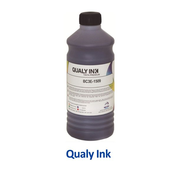 Tinta Epson L1300 EcoTank | T664120 | 664 | L1300 Qualy Ink Preta 1 litro