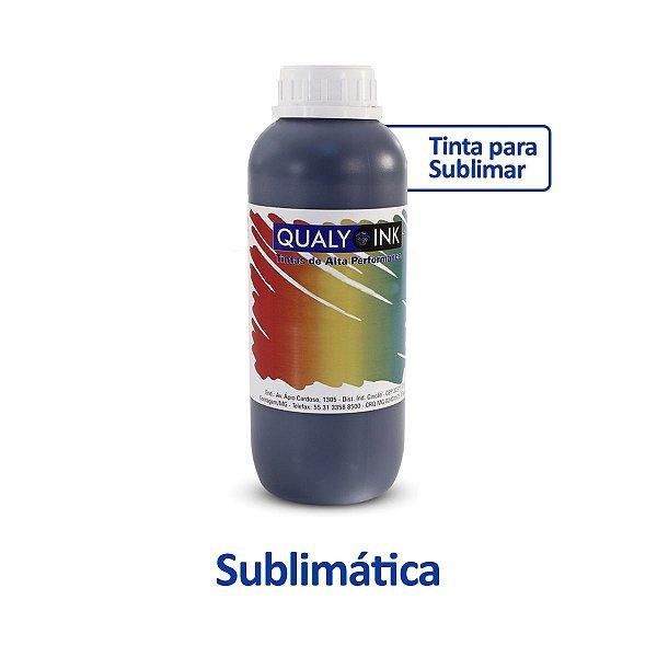 Tinta Epson L3110 EcoTank   T544120   544   L3110 Sublimática Qualy Ink Preta 1 litro