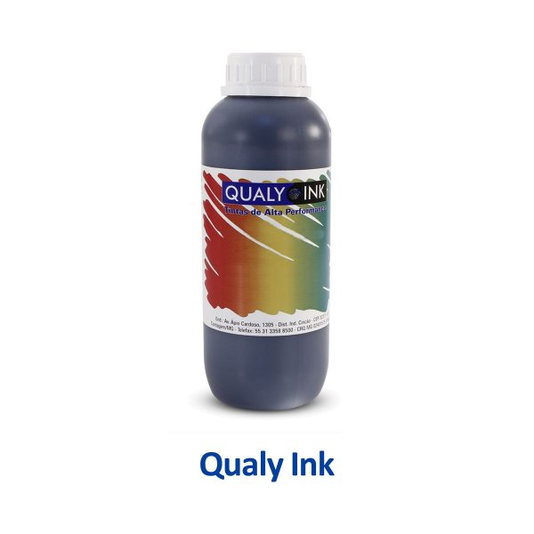 Tinta Epson L495 | T664120 | 664 EcoTank Qualy Ink Preta 1 litro