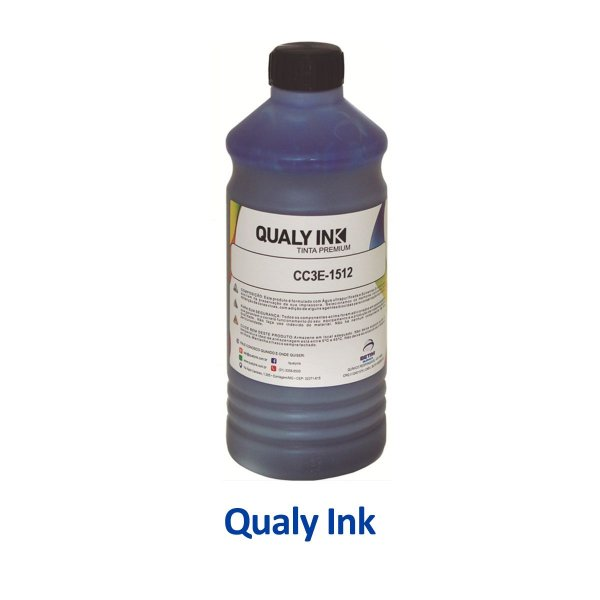 Tinta Epson L14150 EcoTank   T504220   504   L14150 Qualy Ink Ciano 1 litro