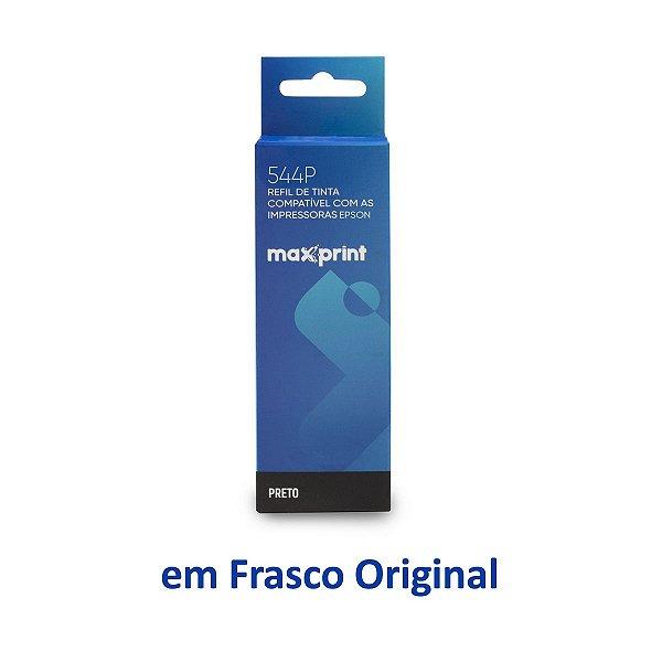 Tinta Epson L3160 EcoTank   T544120   544   L3160 Maxprint Preta 70ml