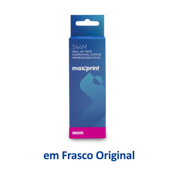 Tinta Epson L3160 EcoTank   T544320   544   L3160 Maxprint Magenta 70ml
