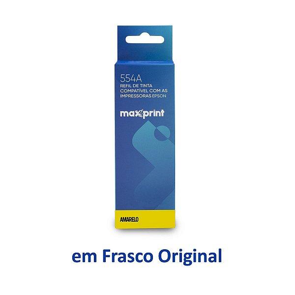 Tinta Epson L3160 EcoTank | T544420 | 544 | L3160 Maxprint Amarela 70ml
