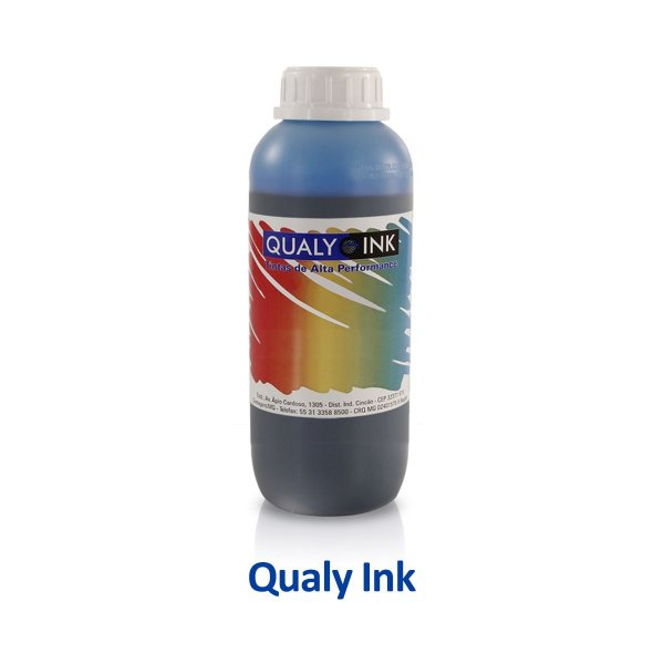 Tinta Epson L555 | T664220 | 664 EcoTank Qualy Ink Pigmentada Ciano 1 litro
