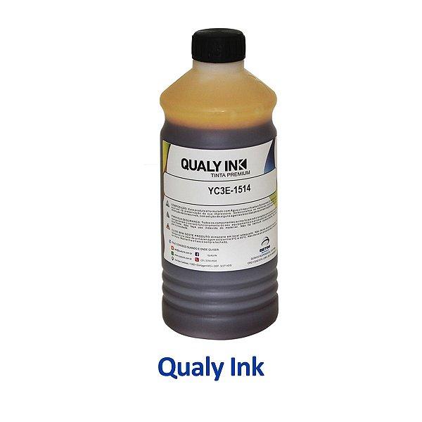Tinta Epson L555 | T664420 | 664 EcoTank Qualy Ink Amarela 1 litro