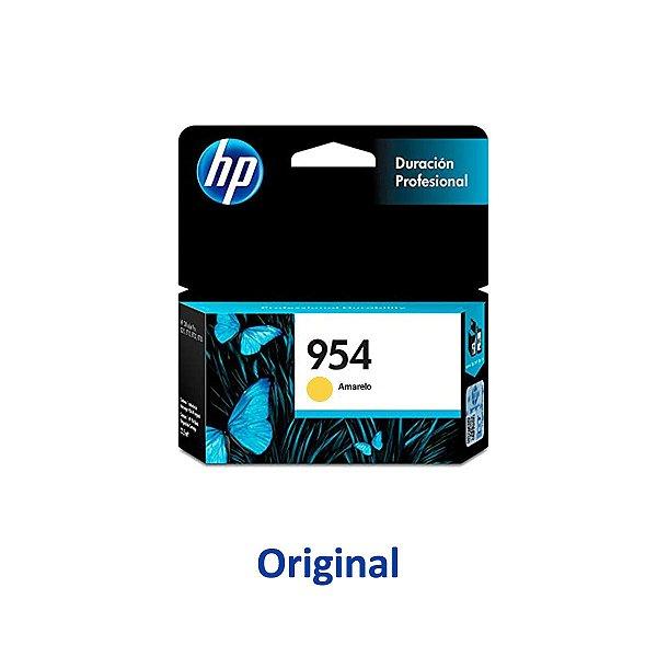 Cartucho HP 954   L0S56AB   954 Officejet Pro Amarelo Original 10ml