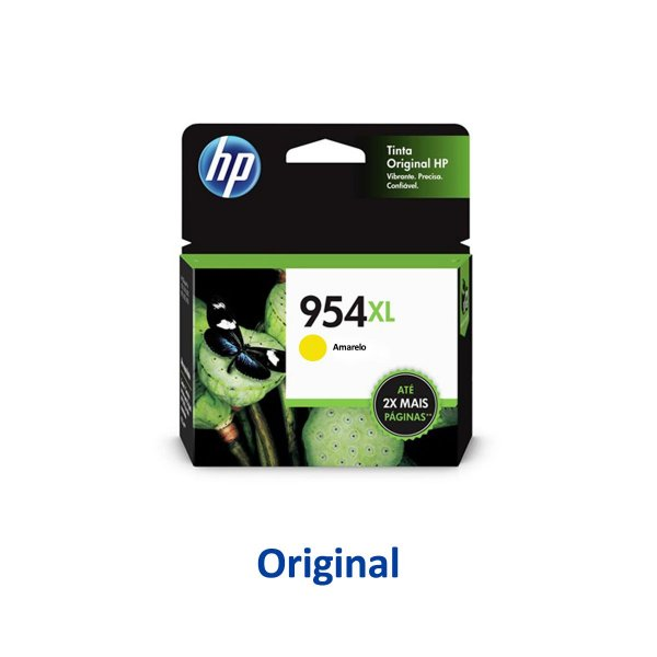 Cartucho HP 954XL | L0S56AB | HP 954XL Officejet Pro Amarelo Original 20ml
