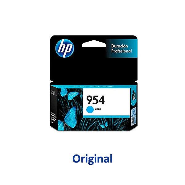 Cartucho HP 8720 | L0S50AB | 954 Officejet Pro Ciano Original 10ml