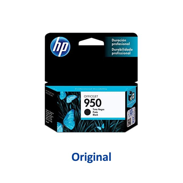 Cartucho HP 8600 | HP 950 | CN049AB Officejet Preto Original 24ml