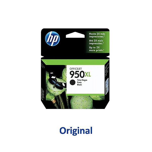 Cartucho HP 8620   8100   HP 950XL   CN045AB Officejet Preto Original 53ml