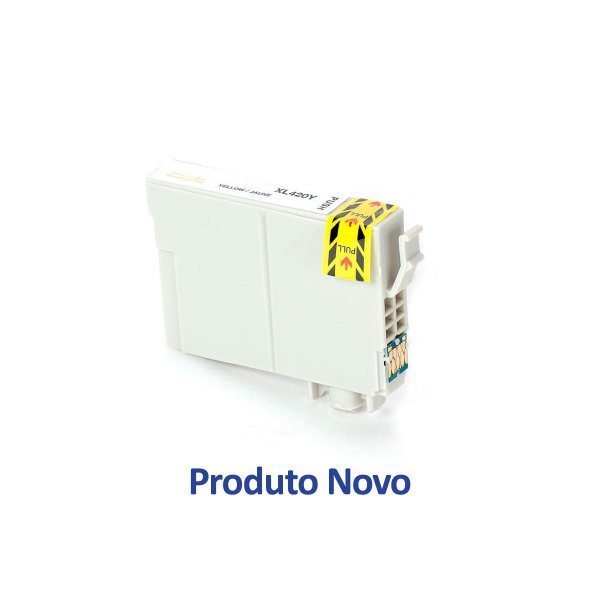 Cartucho Epson TO63420 | Epson 63 Amarelo Compatível 14ml