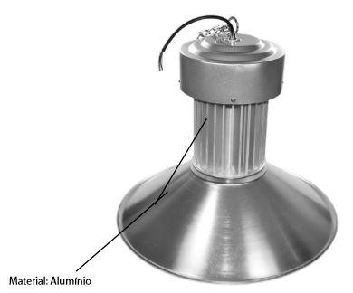 Luminária para galpão 100W high bay