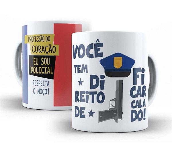 CANECA PROFISSÕES - POLICIAL