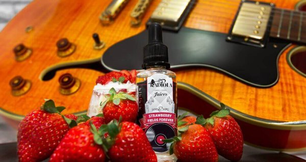 Juice Strawberry Fields Forever - 30ml - 3mg
