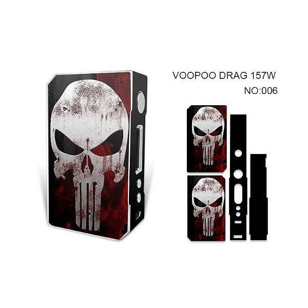 Adesivo para Voopoo Drag 157W - Skull