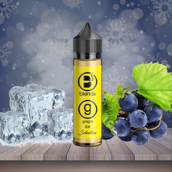 Grape Ice  - 30ml - 0mg |Blends