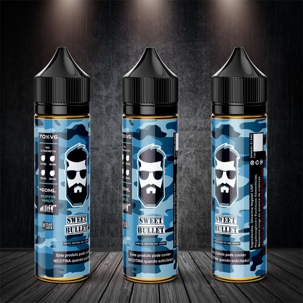 Juice - SWEET BULLET - 60ml - 3mg