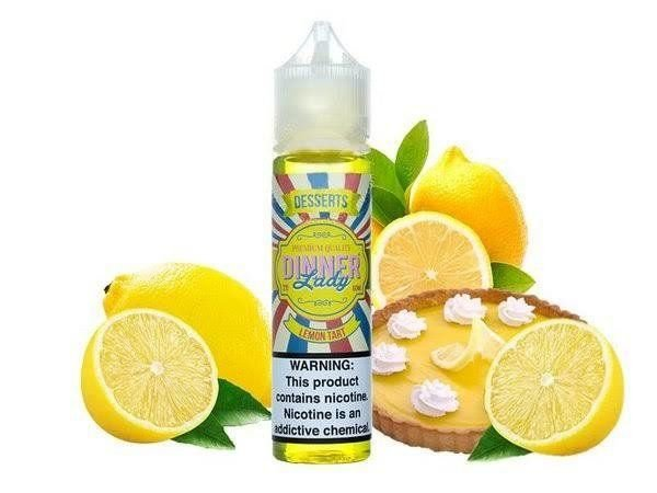 Lemon Tart - 3mg  60ml | Dinner Lady