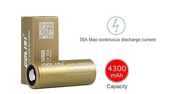 Bateria Golisi 26650