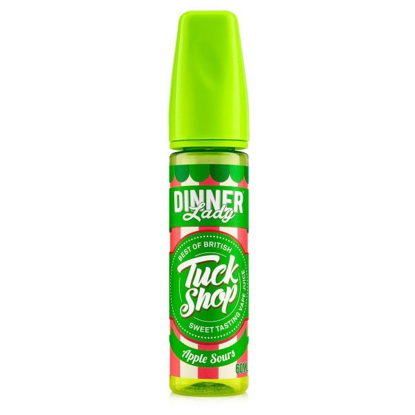 Dinner Lady Tuck Shop - Apple Sours - 60ml - 0MG