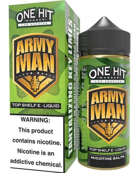 Army Man 100ml - 0mg - One Hit Wonder