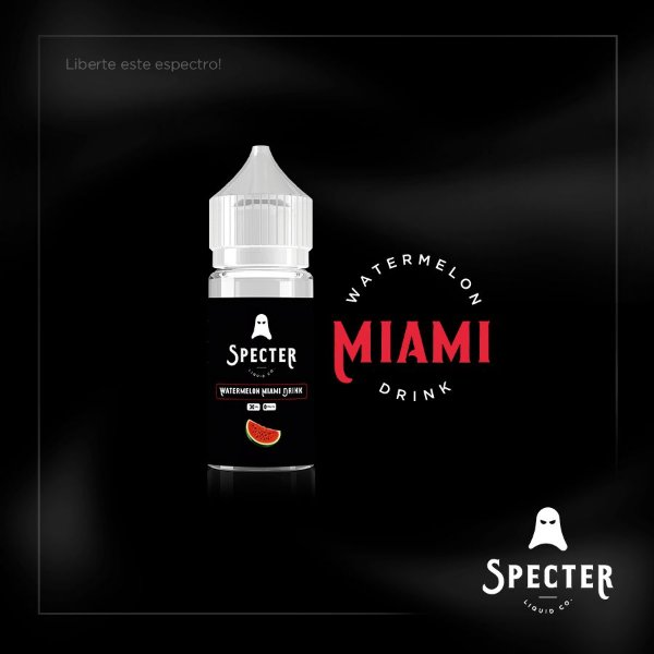 WATERMELON MIAMI DRINK - SPECTER  30ML 3MG