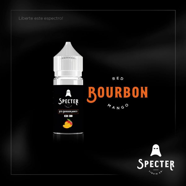 RED BOURBON MANGO - 30ML 3MG