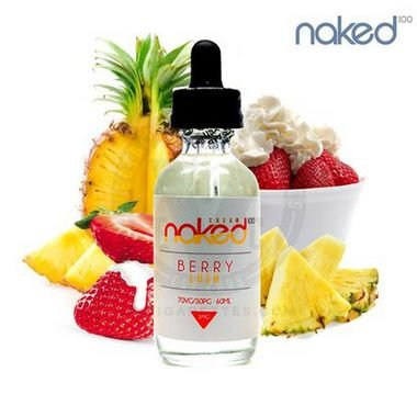 Berry Lush - Naked 100 Creme 60ml/0mg