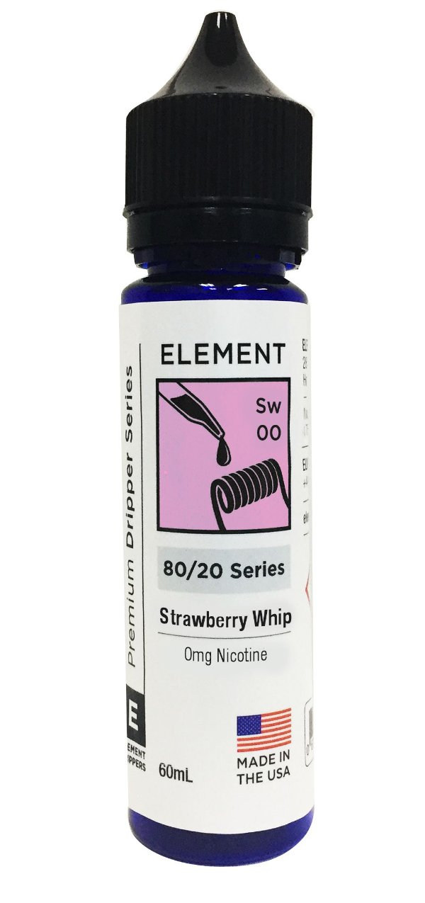 STRAWBERRY WHIP - ELEMENT 60ML 3MG