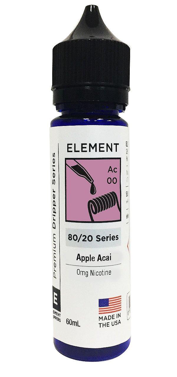 APPLE ACAI - ELEMENT 60ML 0MG