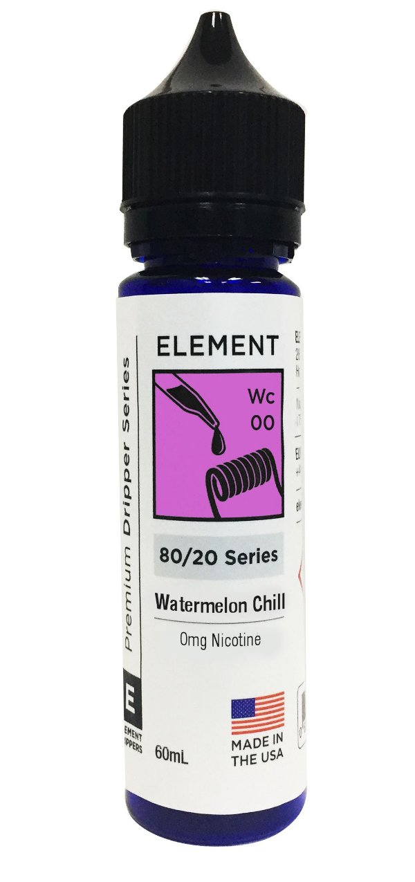 WATERNELON CHILL - ELEMENT 60ML 0MG