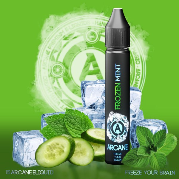 Frozen Mint 30ml 0mg - Arcane