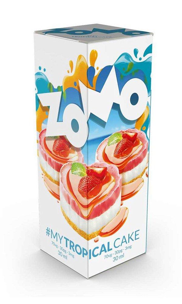Tropical Cake 60ml - 3mg - Zomo