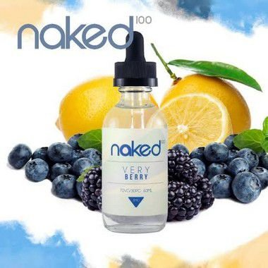 Really Berry Naked 100 60ml/0mg