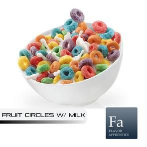 Fruit Circles With Milk Flavor - 10ml | TPA