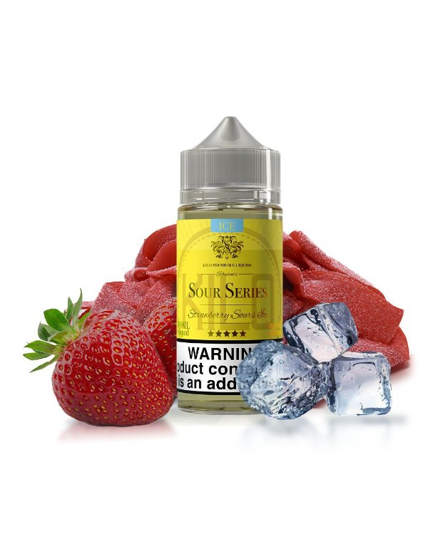 Strawberry Sours ICE | 100ml | KILO