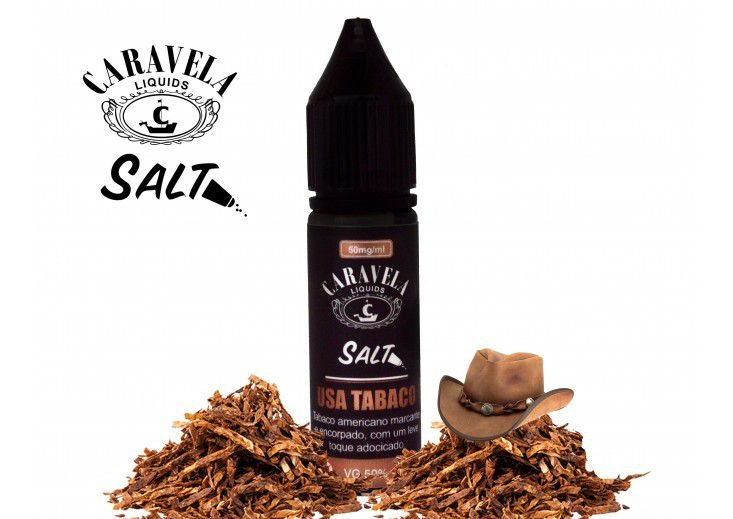 USA Tabaco Salt - 30mg - 15ml | Caravelas